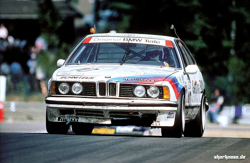 Ravaglia/Surer/Berger at the 1986 Spa 24 Hours.