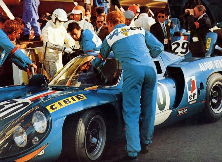 Despite their best efforts, none of Alpine's car finished the 1969 race.