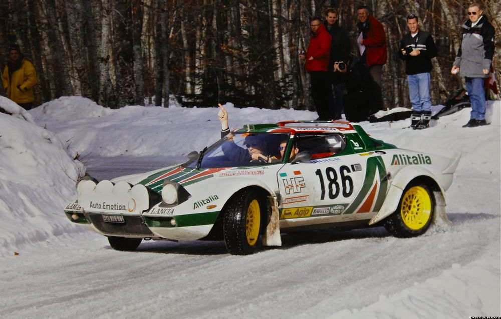 The Lancia Stratos was the first car specifically designed for rally racing.