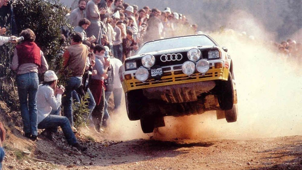 Group B became the most extreme era in rallying the world had ever seen.