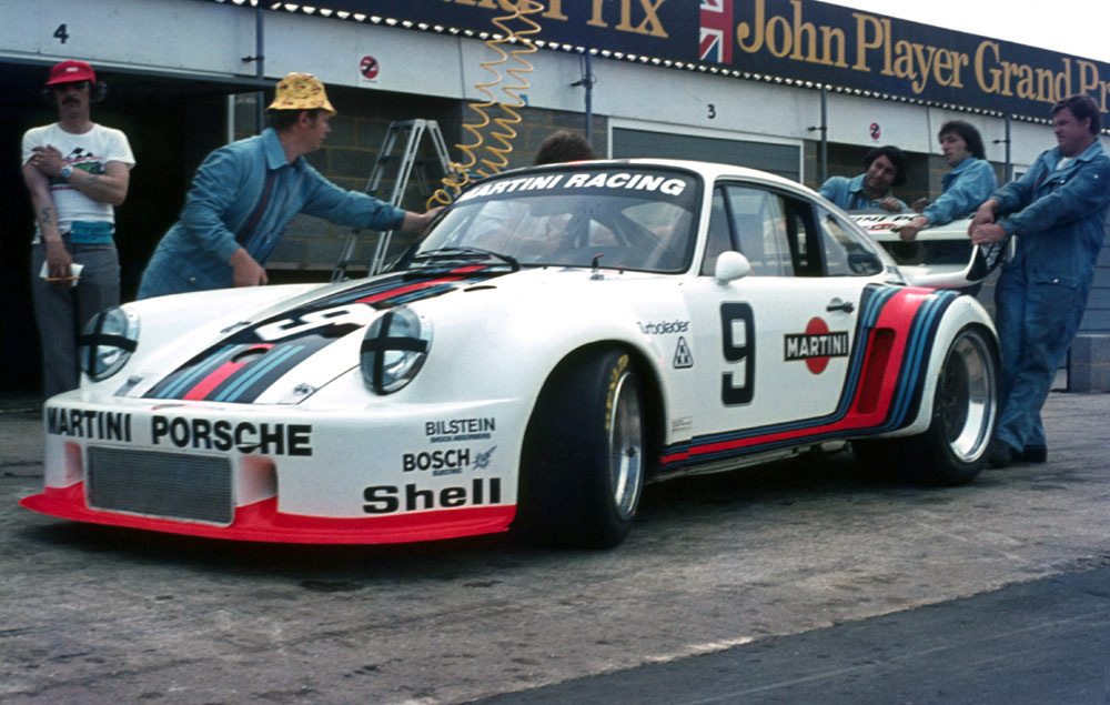 Porsche's 935/76 was one of the first Group 5 machines to hit the tracks.
