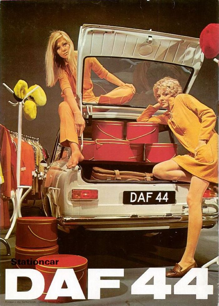 A boring old DAF definitely wouldn't get you any girls.