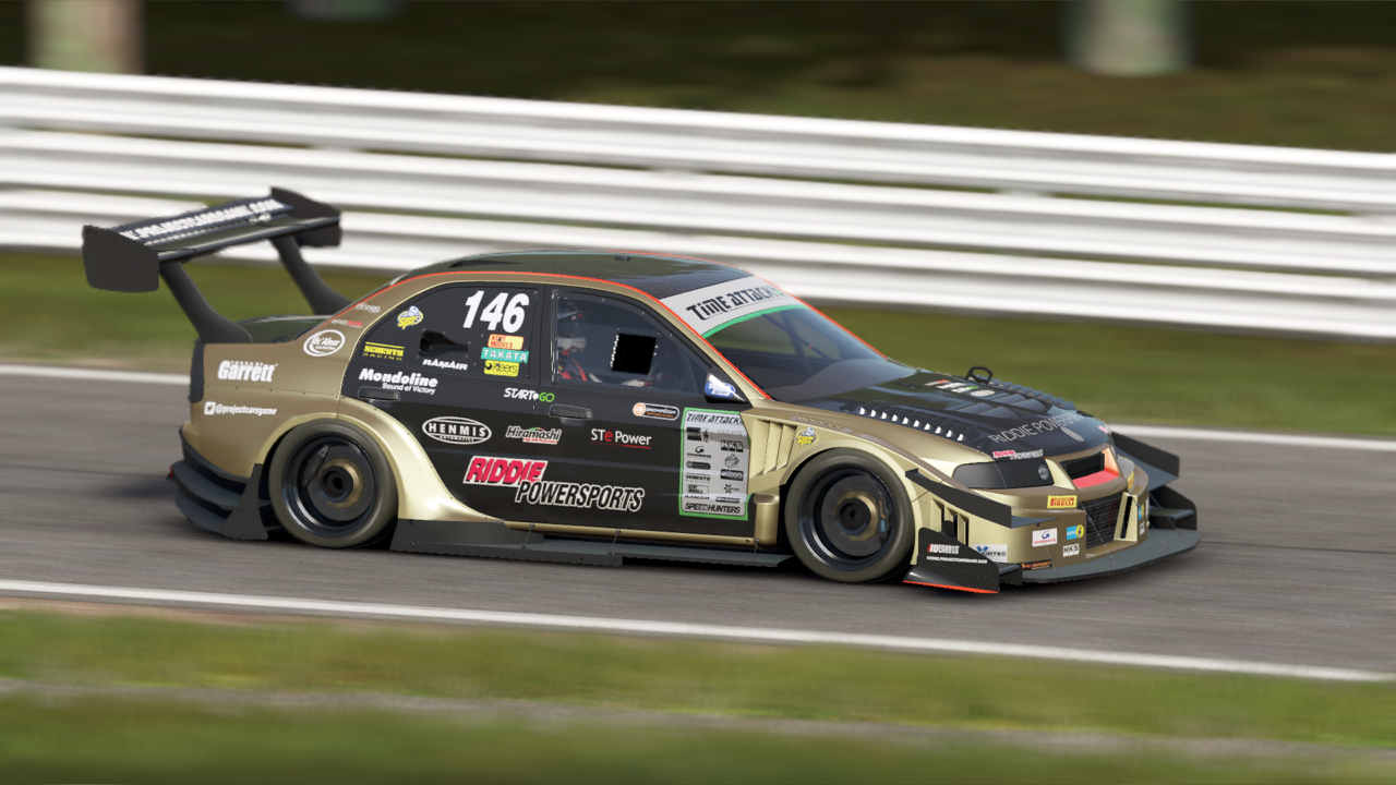 Mitsubishi Lancer Evo Time Attack at Oulton Park, a lesser-known track in northwestern England