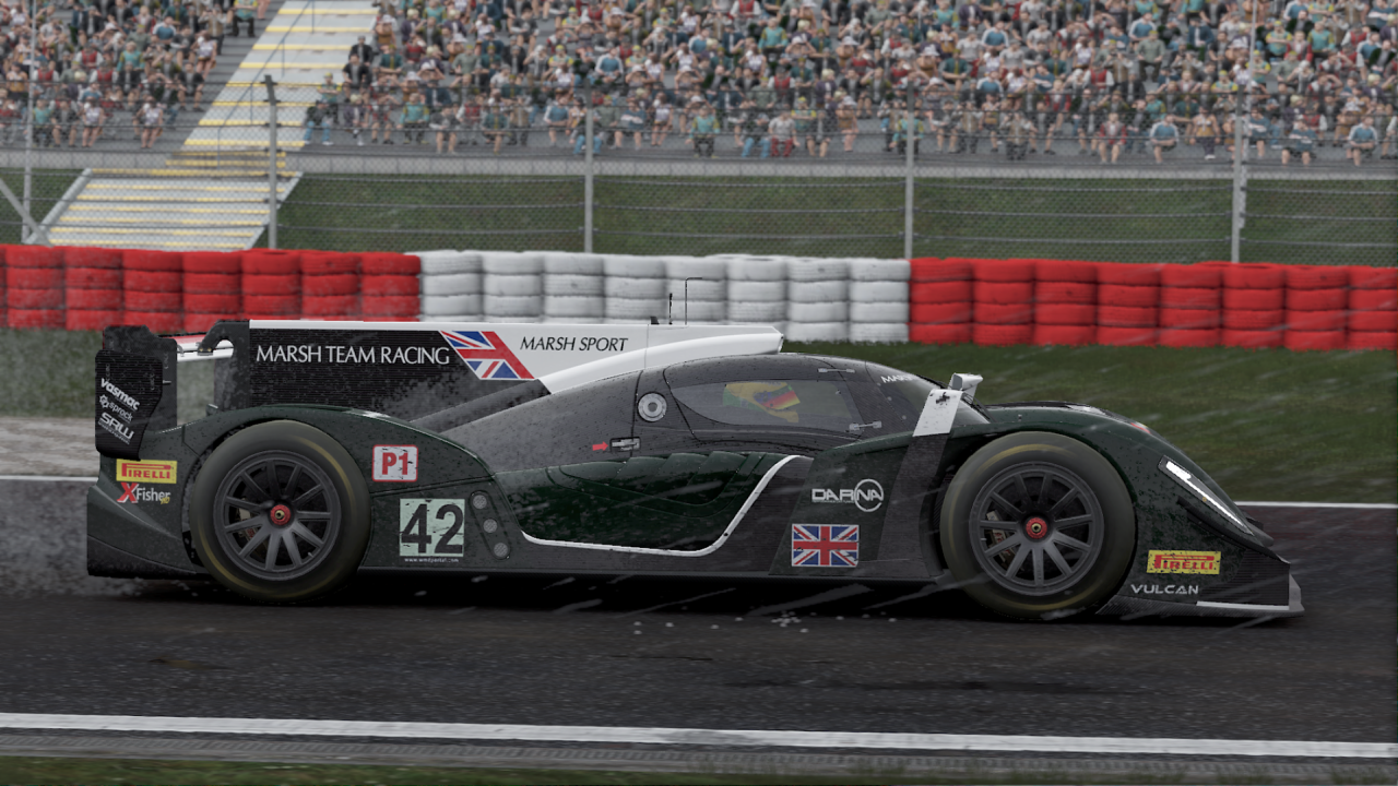 Livetrack 3.0's varying conditions make sure the racing is never boring.