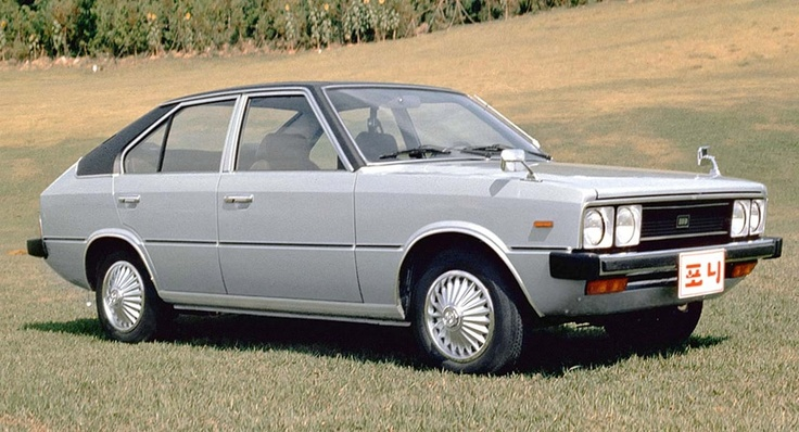 Hyundai's first passenger car, the much maligned Pony.