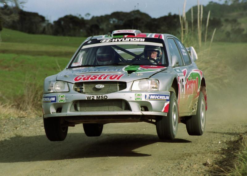Alister McRae, 2000 Rally New Zealand.