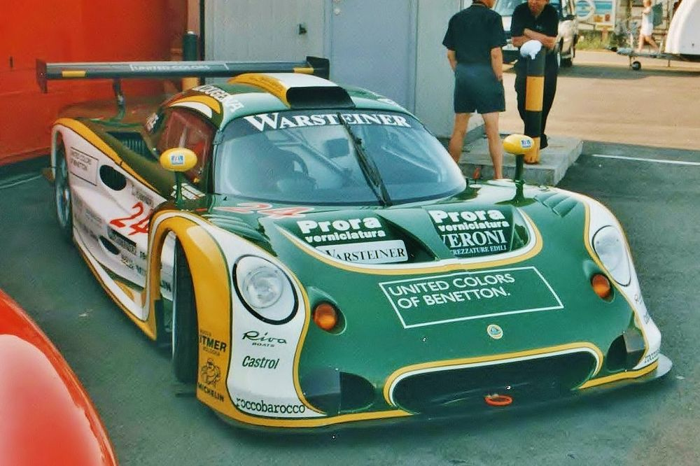The Elise GT1 was unable to break new ground for Lotus.