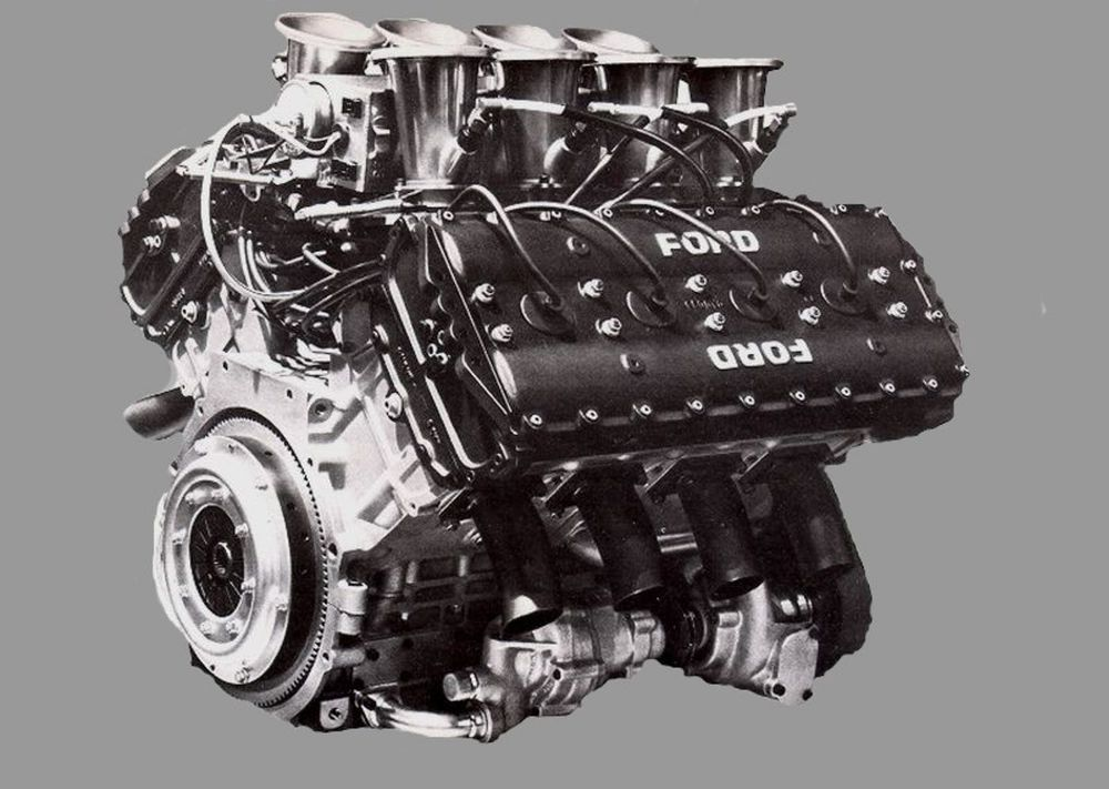 1967's powerful Cosworth DFV provided more freedom to think outside of the box.