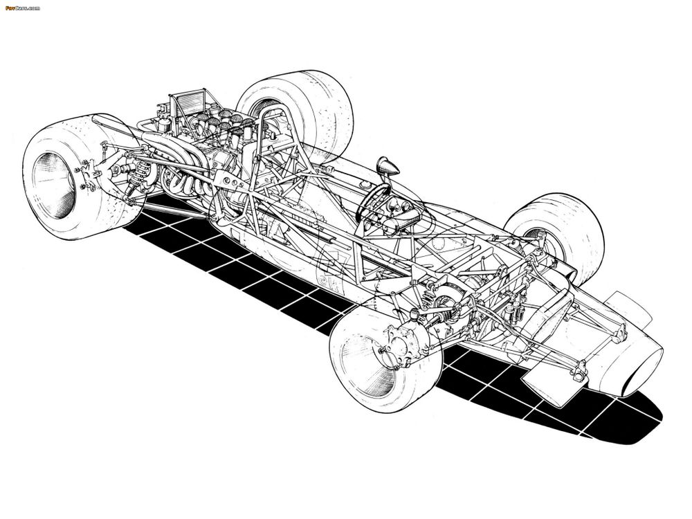 A detailed sketch of the MS84's ingenious layout.