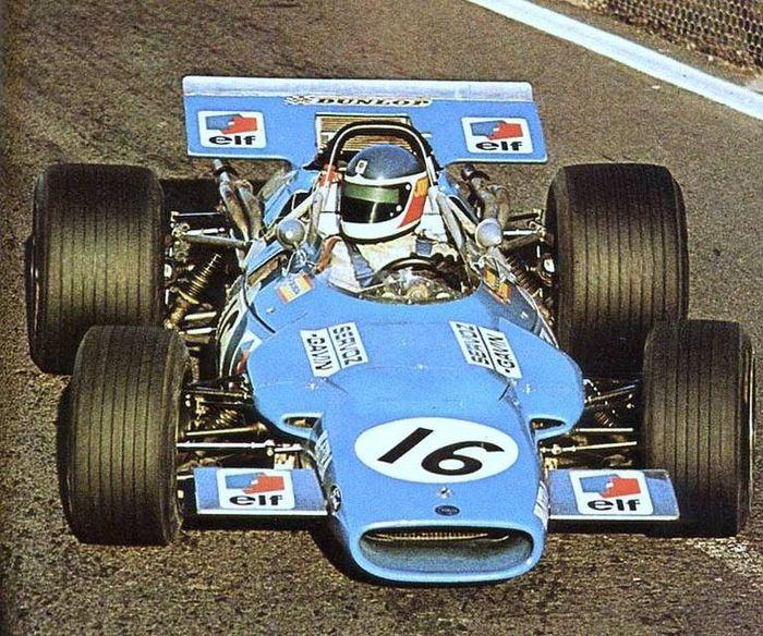 Johnny Servoz-Gavin took over from Beltoise after Silverstone.
