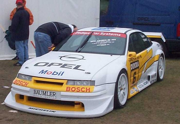 The Calibra's inital bodystyle was fairly conservative.