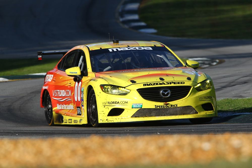 Miller/Carbonell took the checkered flag for Mazda