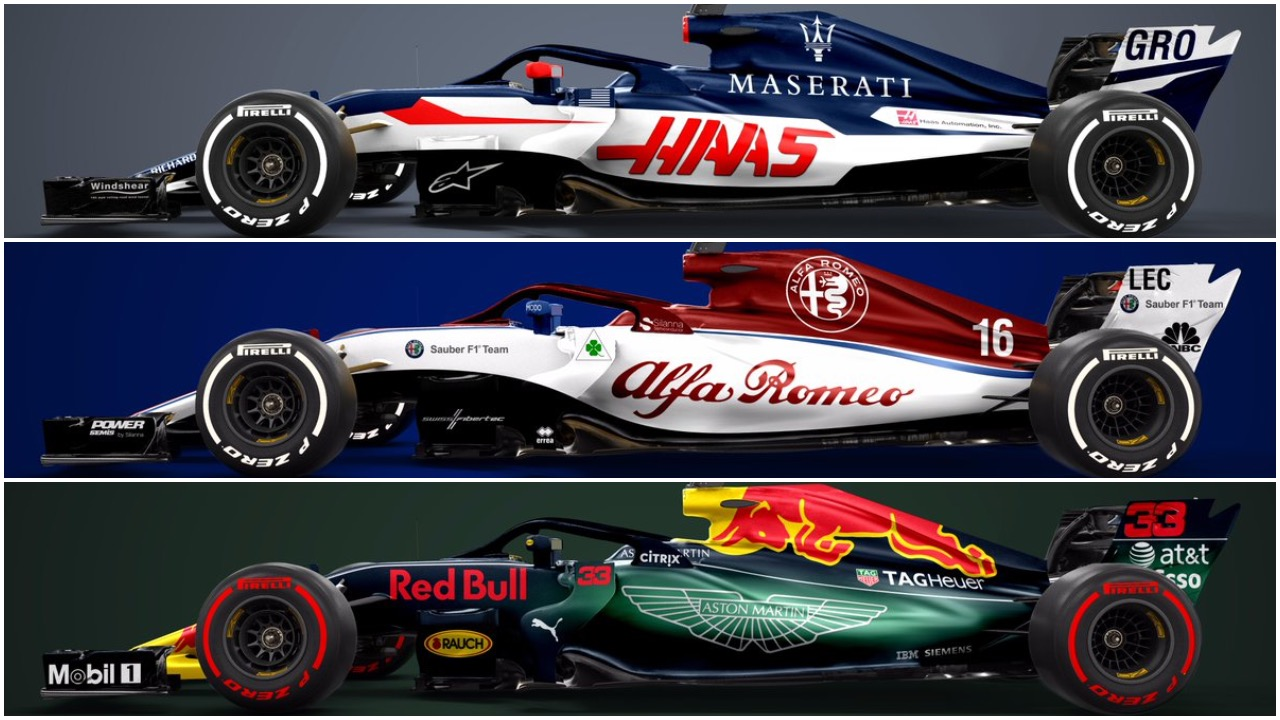 With Aston Martin, Alfa Romeo and the possibility of Maserati joining in, the future of Formula One looks bright (Designer: Sean Bull Design)