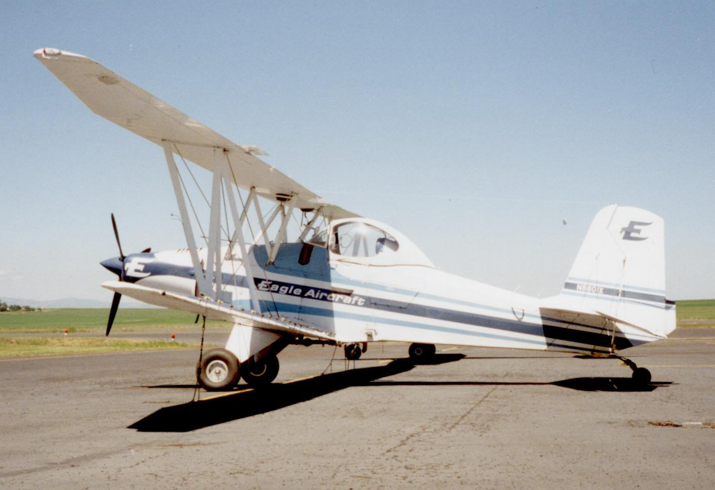 Dean Wilson's Eagle Aircraft Company was known for producing excellent cropdusters.