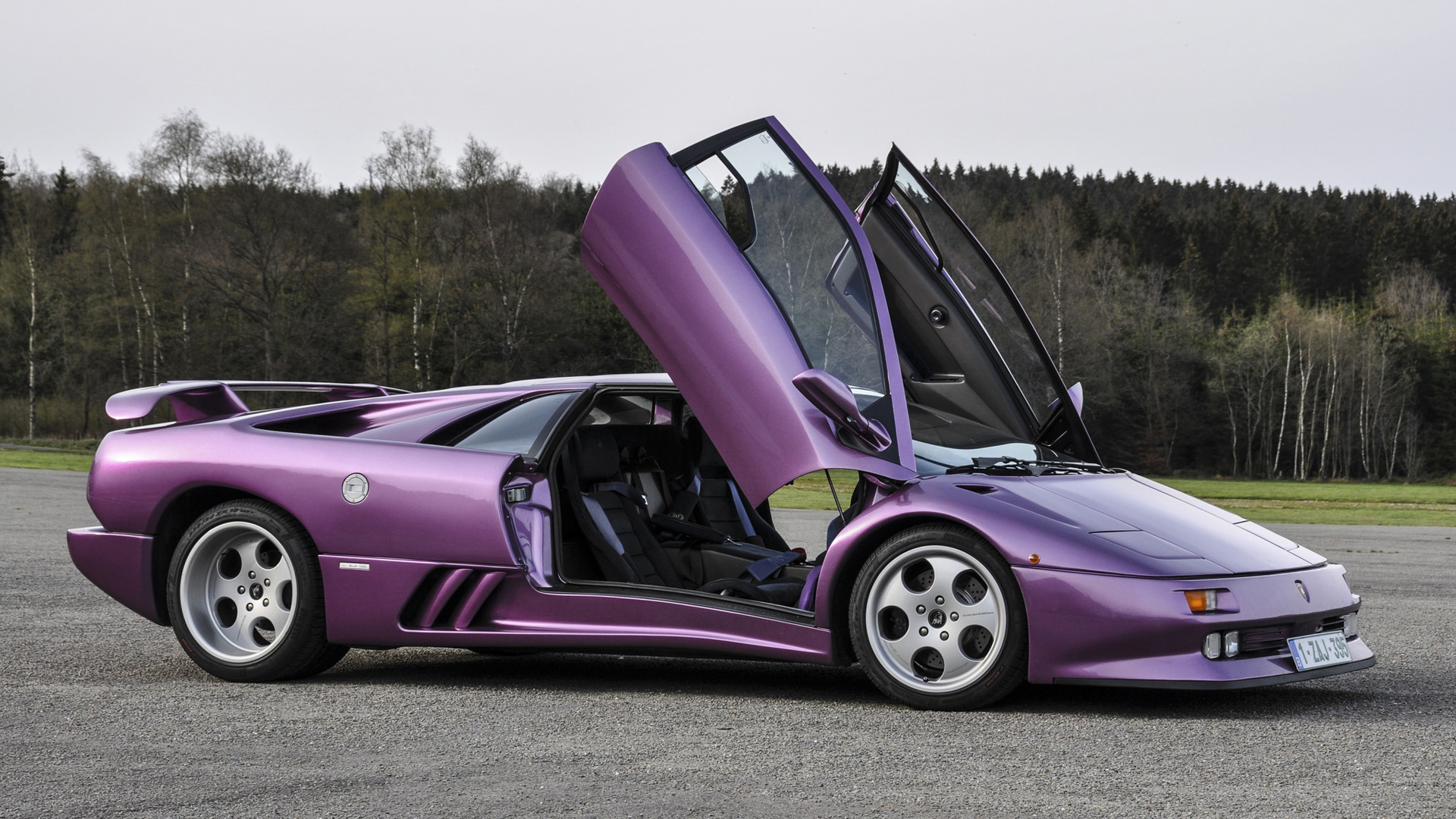 Lamborghini had always been about extravagance and style, racing was never a priority.