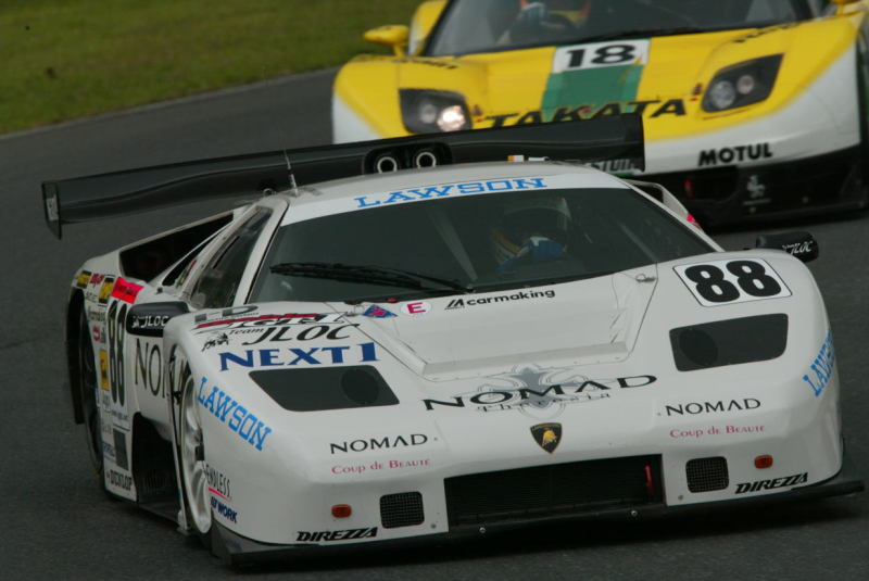 The Diablo faced daunting opposition from Japan's three major factory teams.