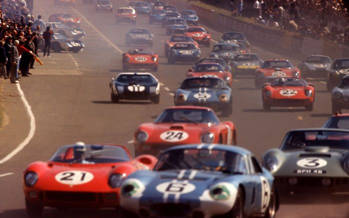 ncreasingly more powerful GT and prototype cars were threatening to overtake F1.