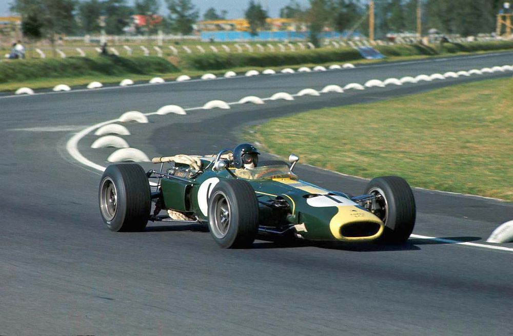 Jim Clark, 1966 Mexican Grand Prix.