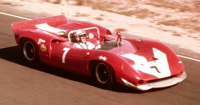 John Surtees took Lola to new heights by winning the 1966 Can Am Cup.