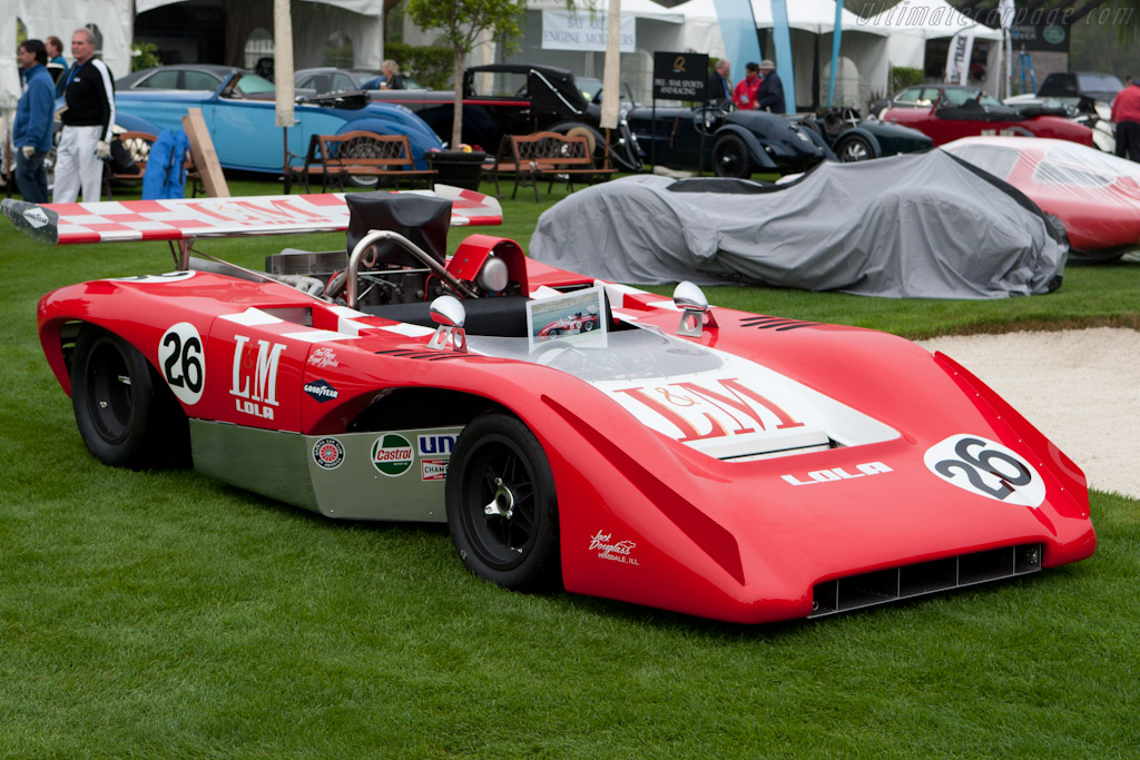 The wedge-shaped T220 managed to lift Lola's spirits in 1970.