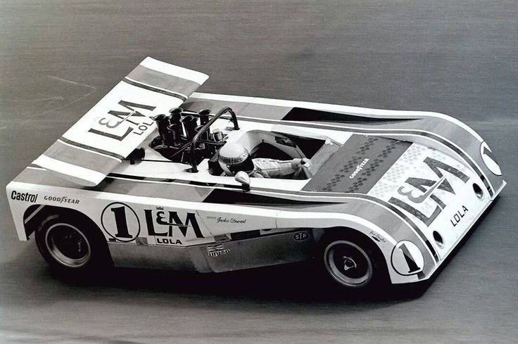 The short and stubby T260 was a big departure from the norm in Can Am.