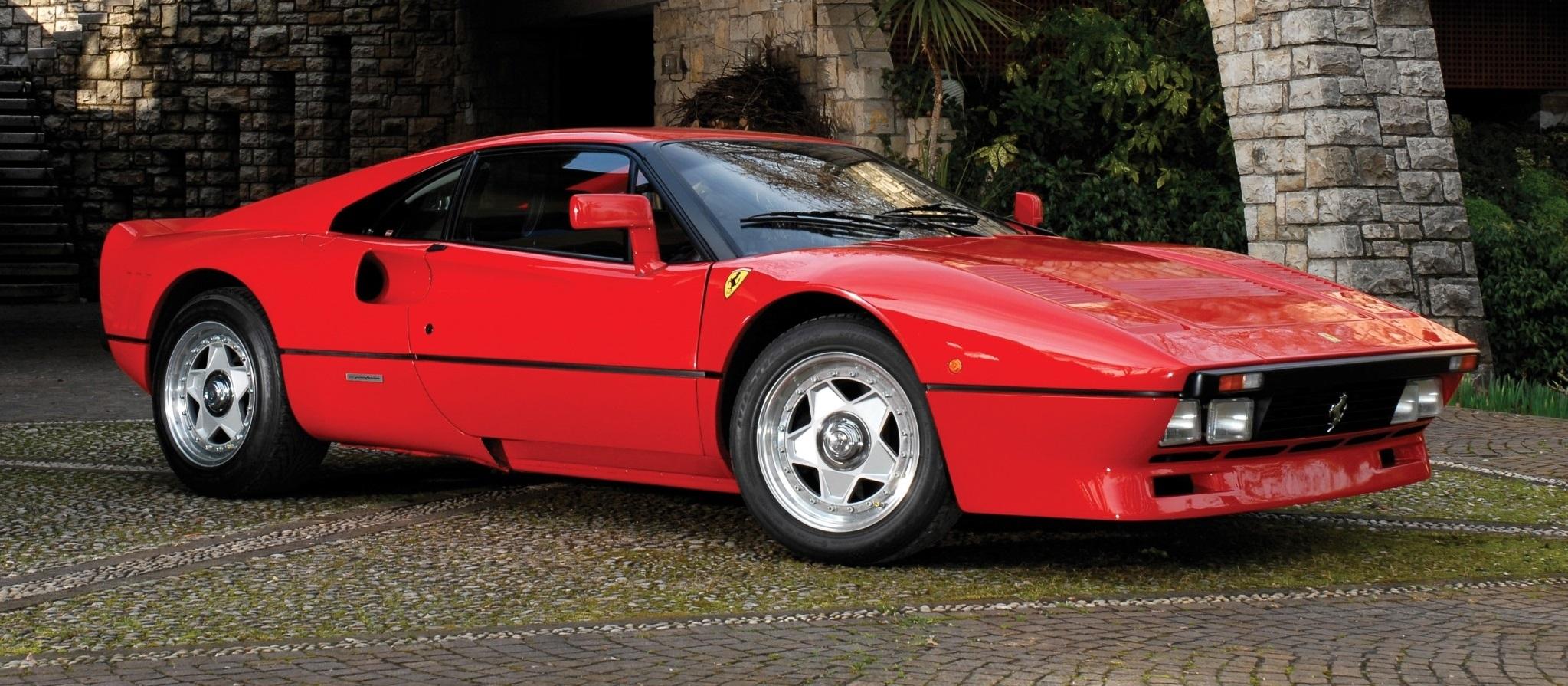The gorgeous 288 GTO was Ferrari's first serious turbocharged car.