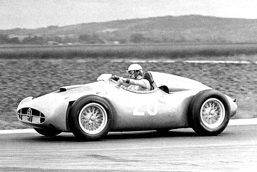 The 251 during testing, 1955.