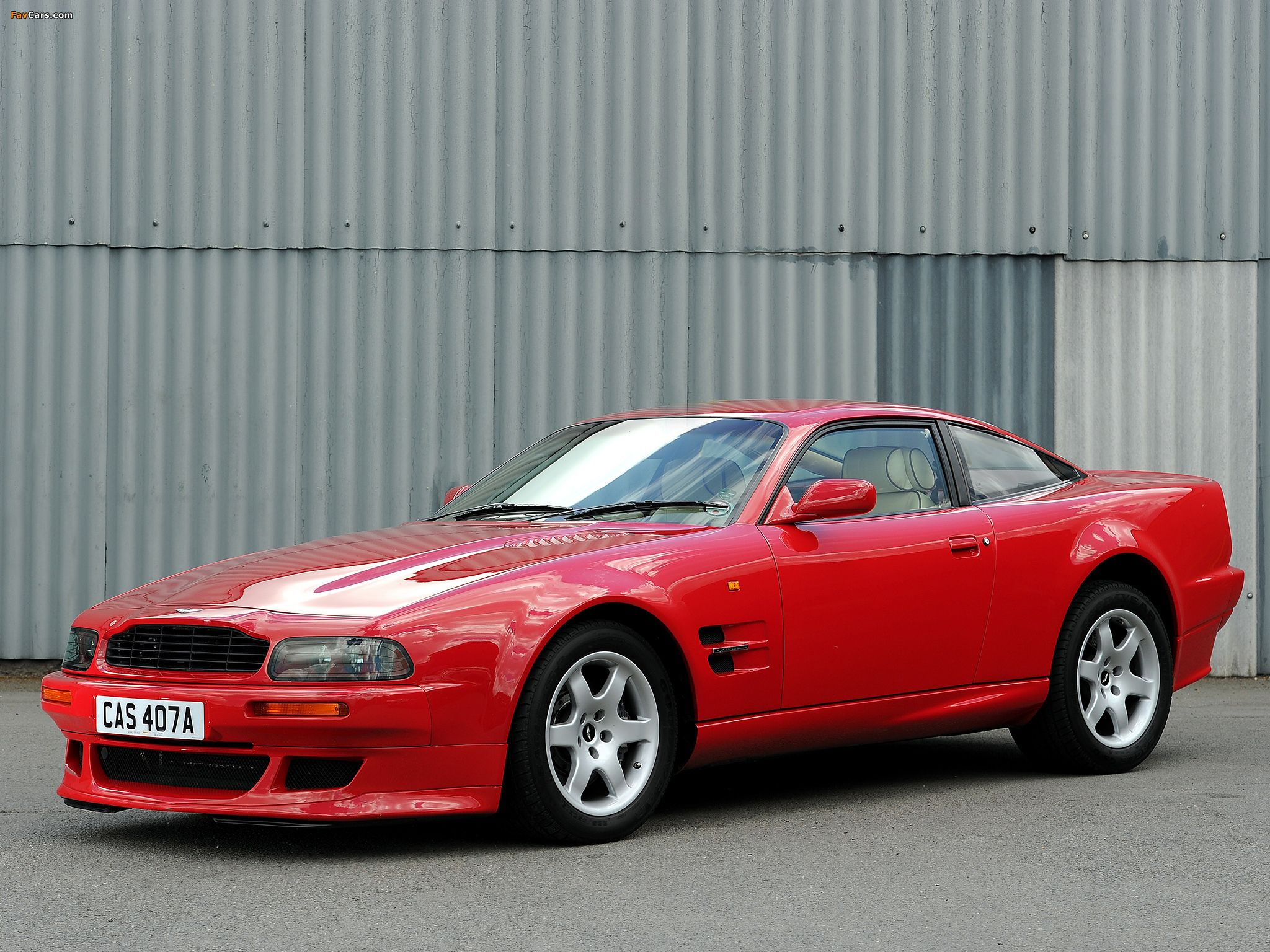 Between 1993 and 2000, 'Vantage' was once again used to indicate a high-performance version, this time of the Virage, later known as V8 Coupe.