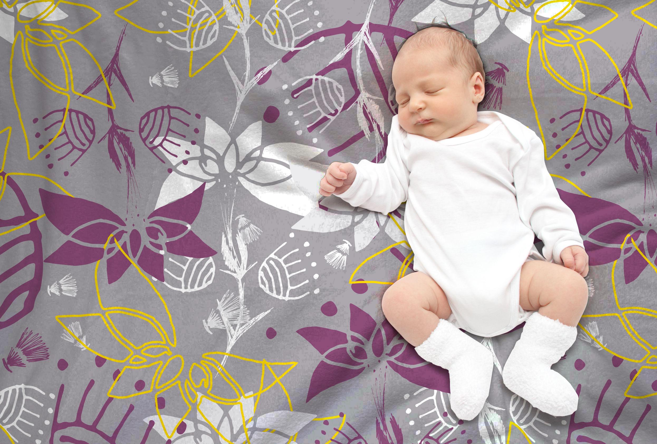 Marshlands Baby Blanket