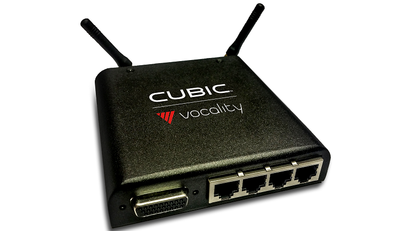 Radio-Over-IP - Vocality RoIP connecting VHF/UHF radios in different places and big spaces over public Internet or private IP network.