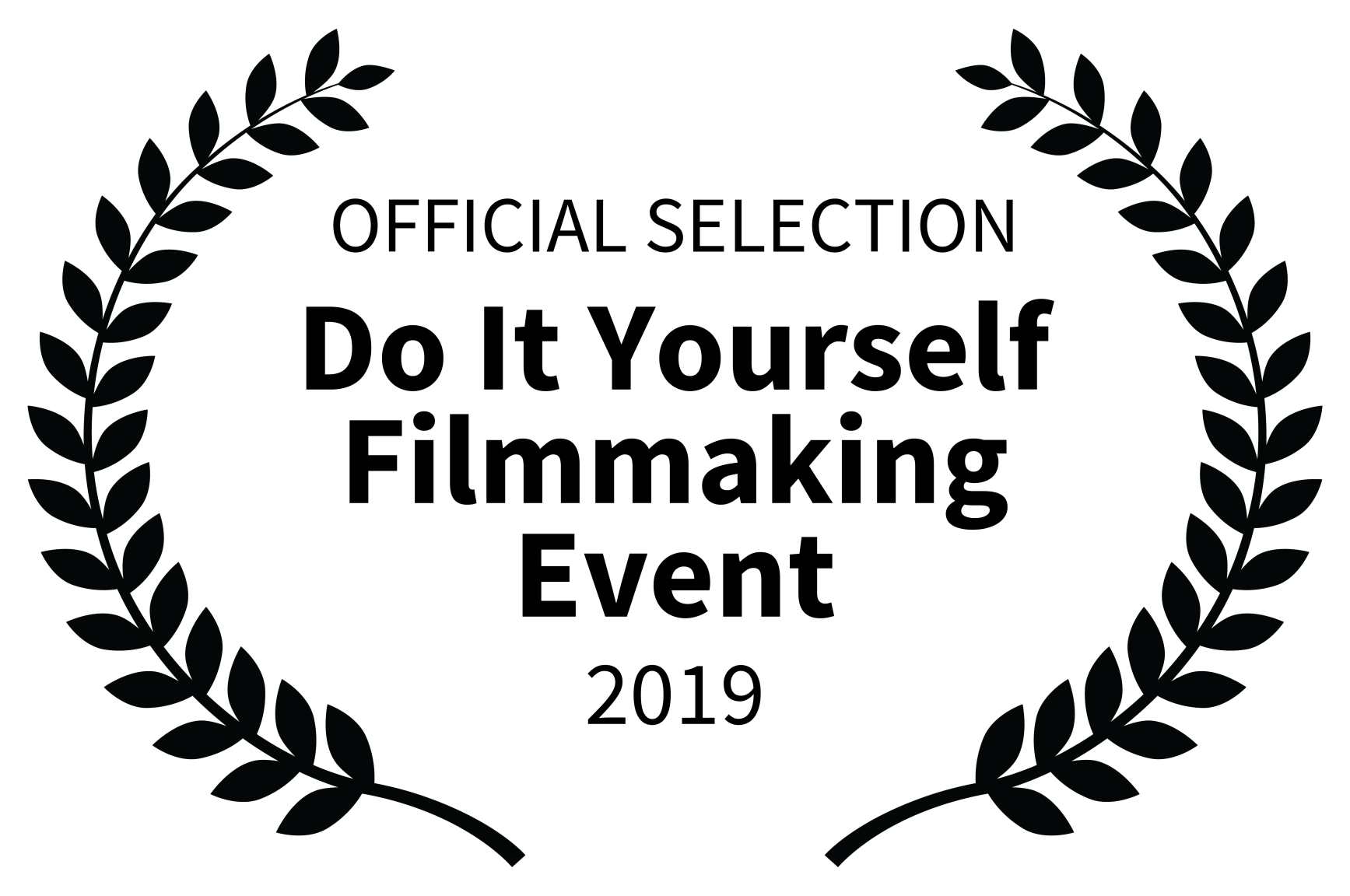 OFFICIAL SELECTION - Do It Yourself Filmmaking Event - 2019.png