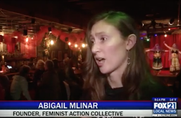 march on washington fundraiser feminist action collective abigail mlinar
