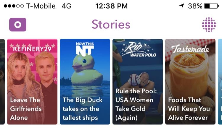 Big Duck on Snapchat