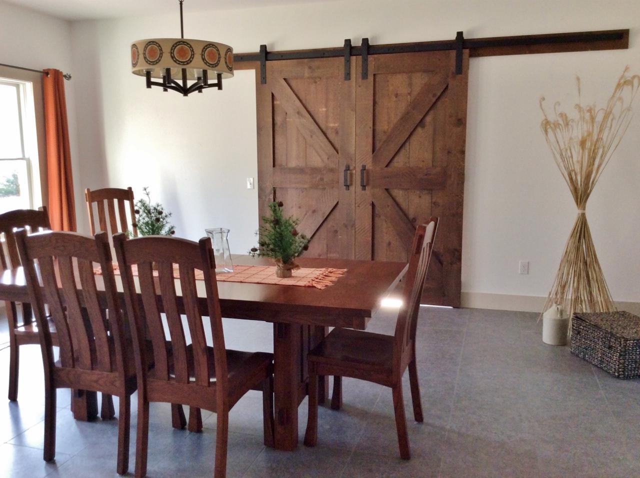 If Your Floor Plan Is Too Open Add Barn Doors La Casa Design Studio