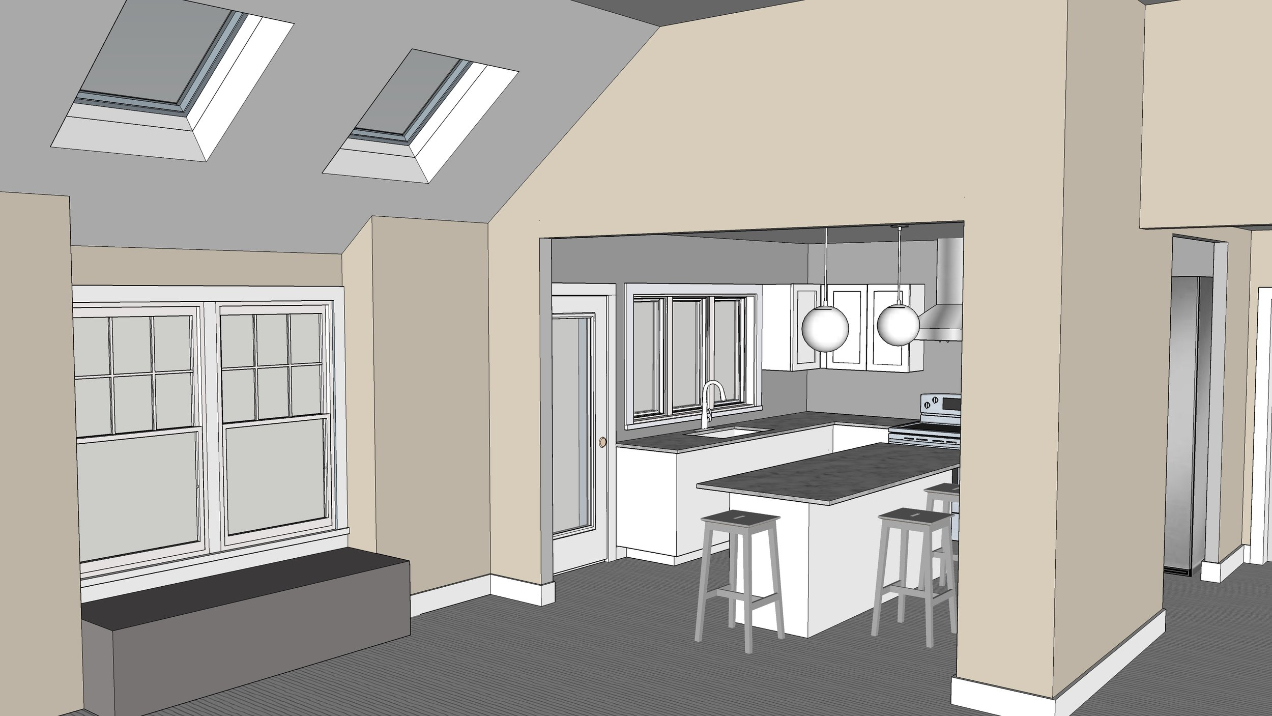 With 3D renderings, it's much easier to go back and forth, gather ideas,communicate in real time and make adjustments on the fly. The result a product that pleases the client and is of the highest quality.