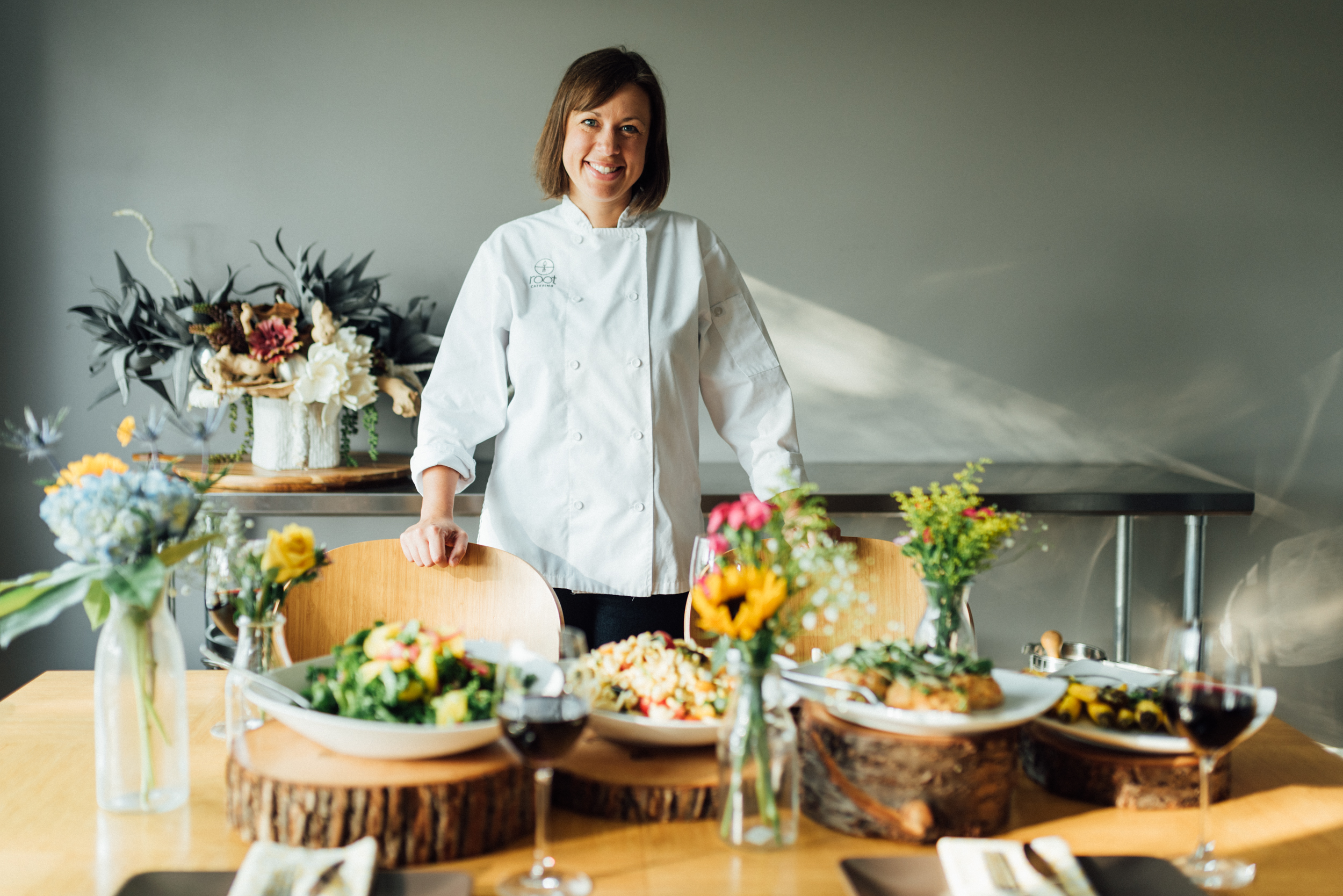 Root Catering - Click for full feature.