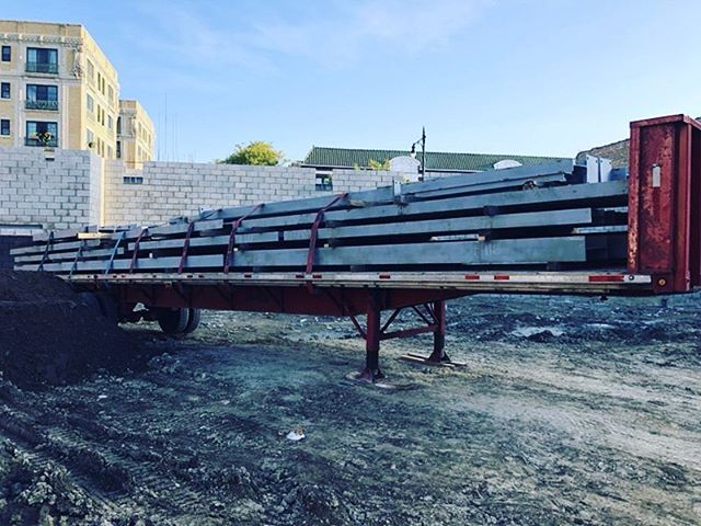 Steel has arrived at @elevationlofts as we prepare to go vertical. Expect big things in the coming weeks!