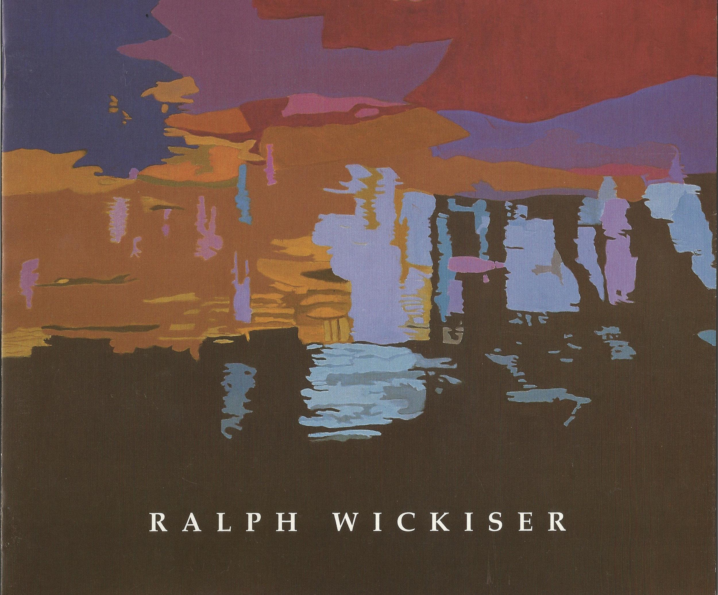 """Dark River Bottom  40""""x60"""", Oil on linen, 1997"""
