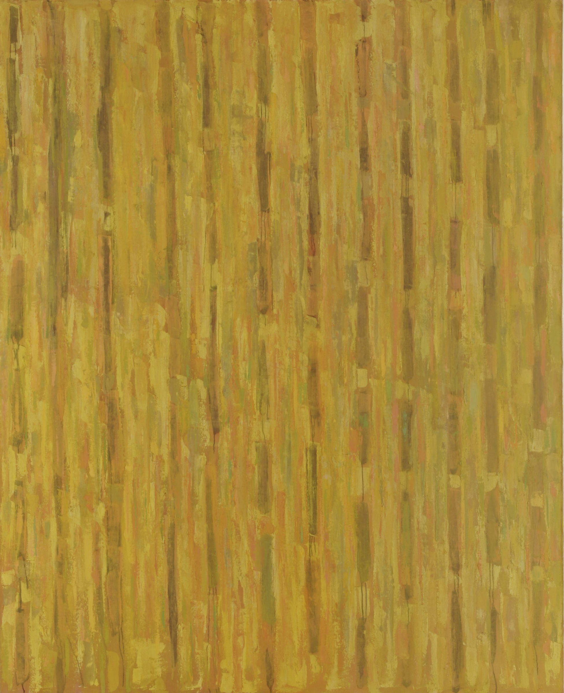 "Compassion Theme Yellow  90""x73"", 1954"