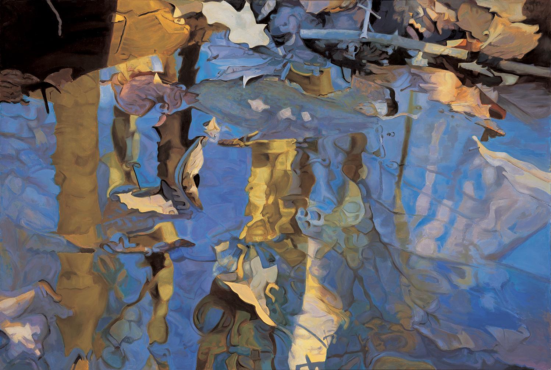 "Diadem 47"" x 70"", Oil, 1983"