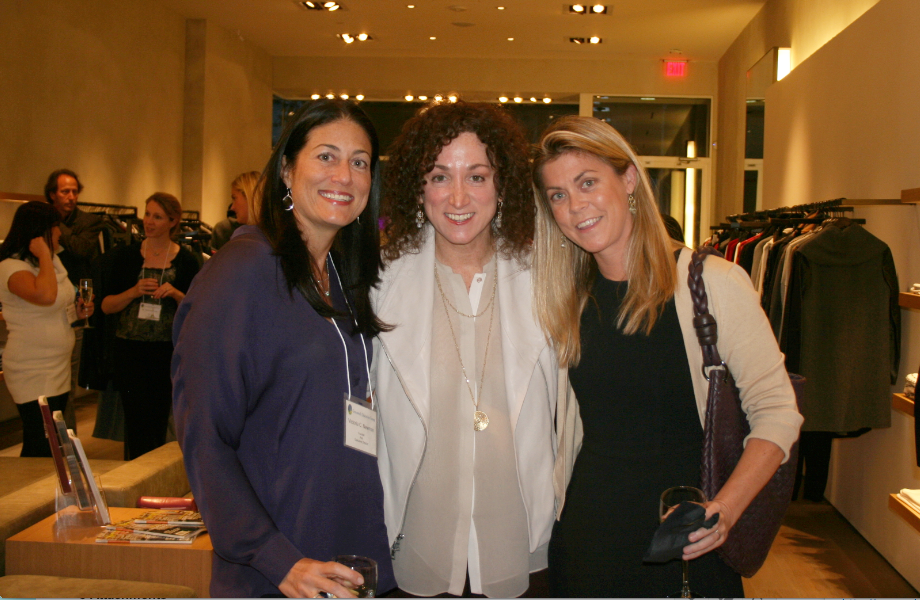 Victoria Newman, Founder & Executive Director, Greenwich Education Group, Jill Granoff, CEO of Vince, and Suni Unger, CEO & Owner, Unger Publishing/Serendipity Magazine.