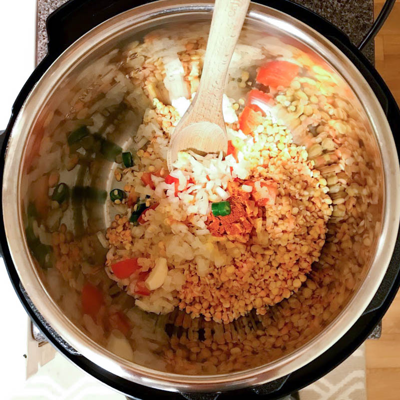 Instant Pot Mixed Daal Recipe