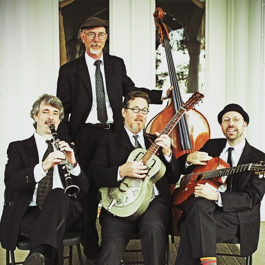 Proud to host the Zzymzzy Quartet at #SD20TWENTY THIS Saturday Oct 21. A gem of a local band recapturing the glory days of gypsy-jazz legend #DjangoReinhardt (Look him up!), with a sly nod to Louis Armstrong and Duke Ellington—swinging, melodic, dreamy, and full of surprises! #bestofsd #localdogooders