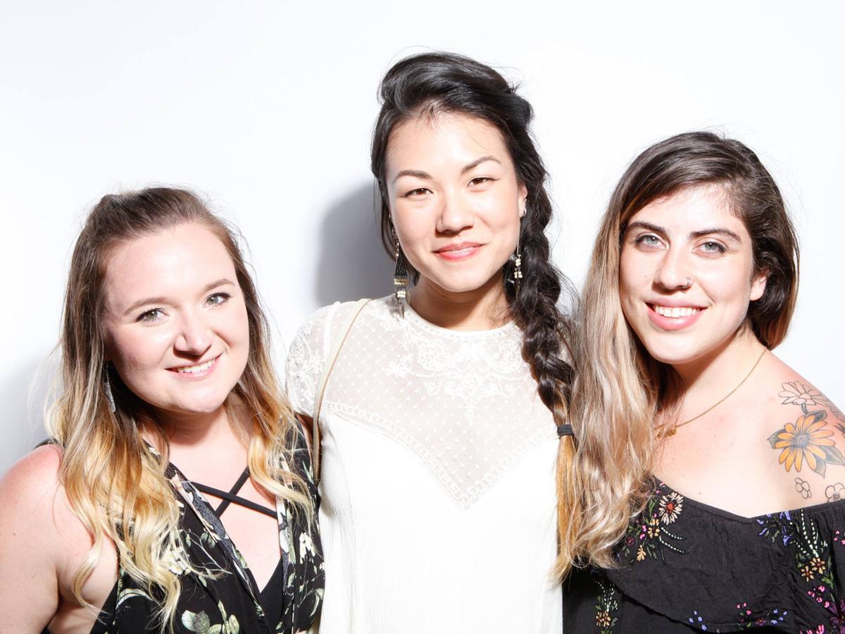 Danielle, Shae-li, and Julie