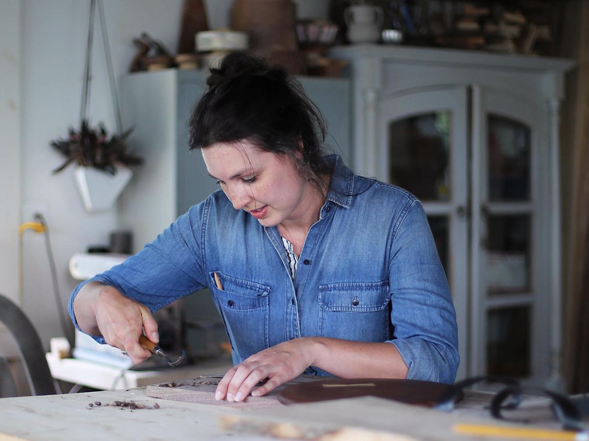Wellstruck Lady Boss // Woman-owned business vestige HOME