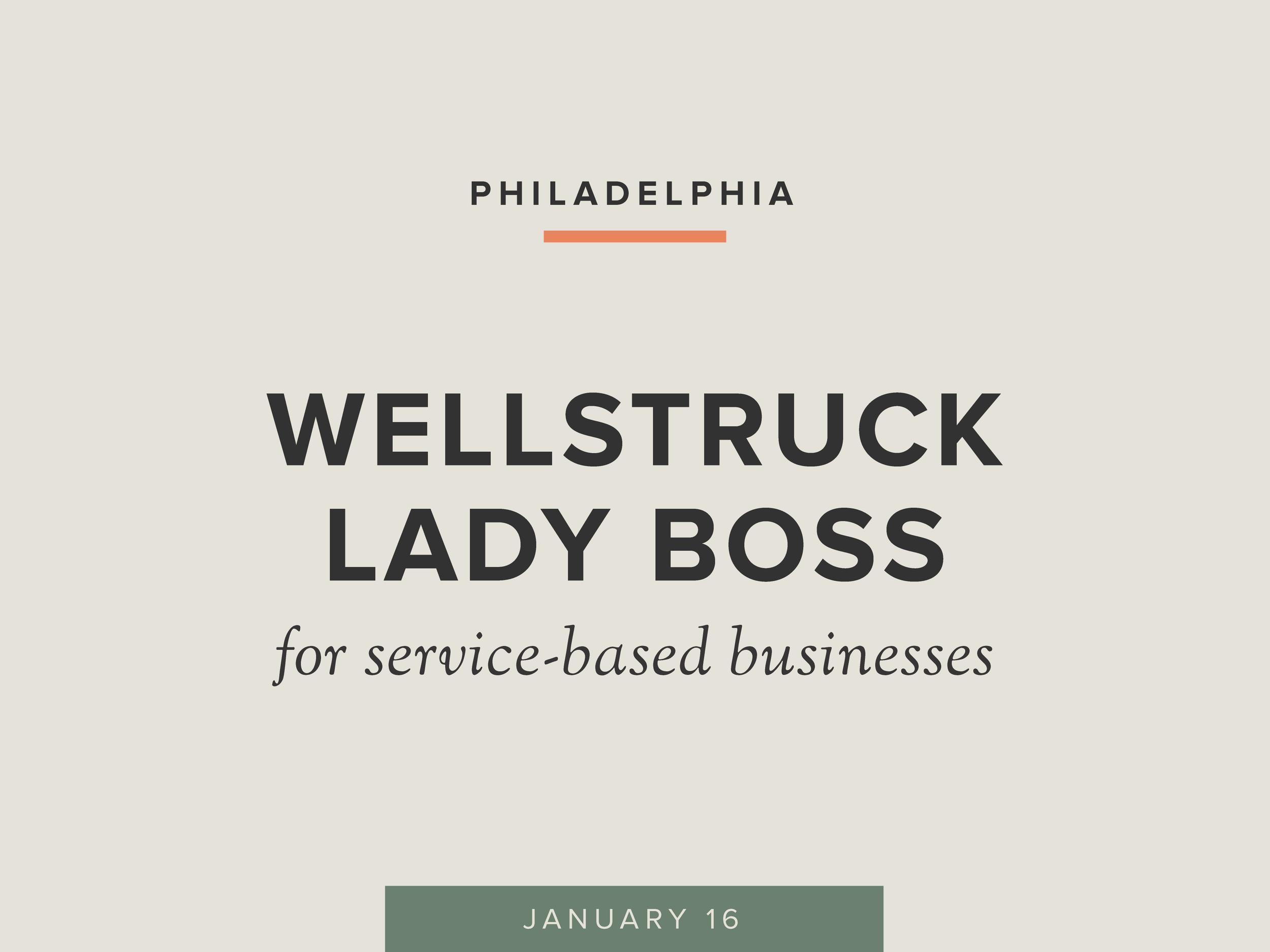 Wellstruck Lady Boss with Sam Vander Wielen