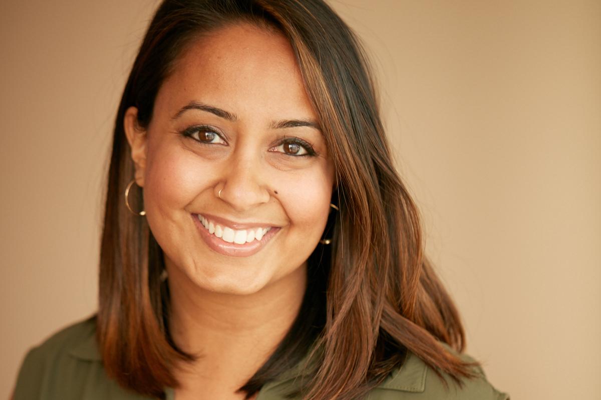 Esha Dev, owner of Saffron Public Relations.