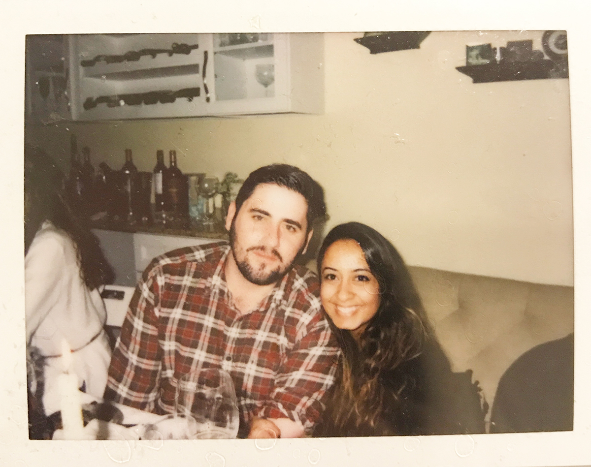 Esha and her partner in life, Mike
