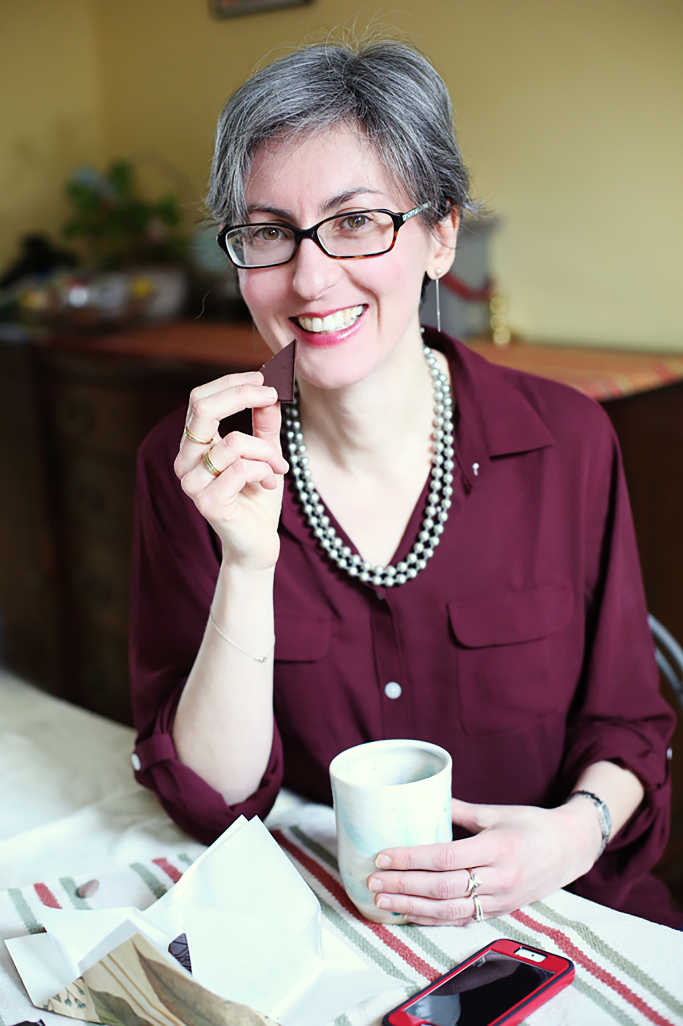 Estelle Tracy, chocolate sommelier | 37 Chocolates