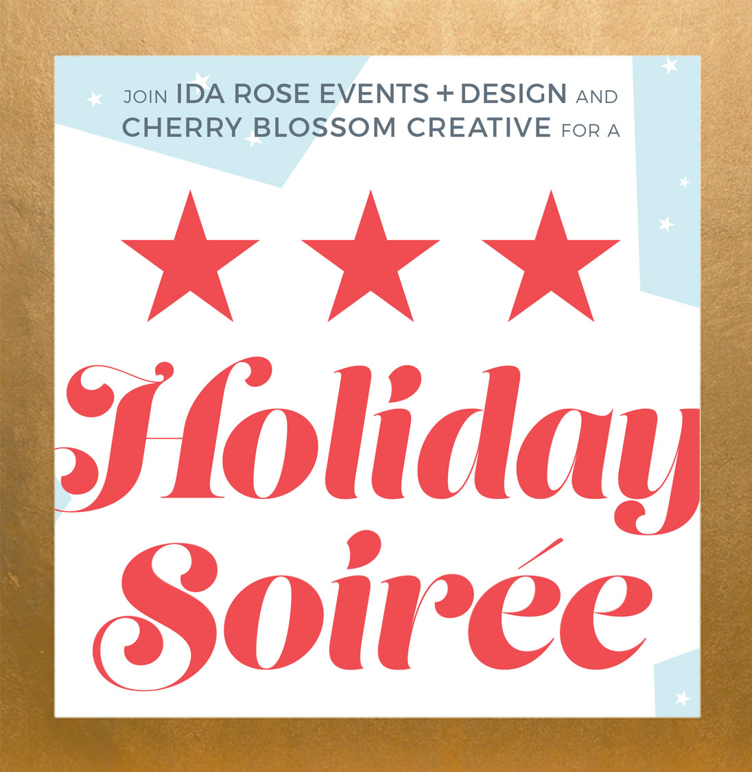 Cherry Blossom Creative Holiday Soiree